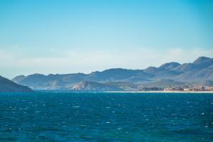 Catch-22 Beach in San Carlos is popular for kitesurfing.